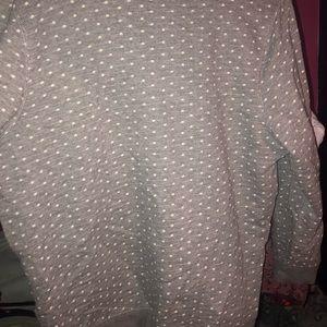 Gray sweatshirt